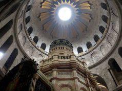 Protesta e chiusura Santo Sepolcro
