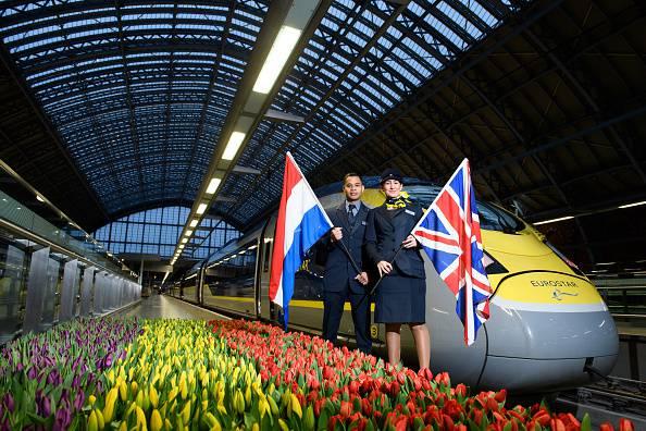 treno diretto da londra ad amsterdam
