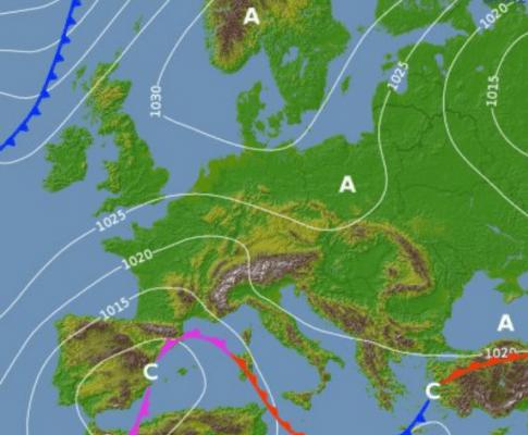 Previsioni meteo febbraio 2018