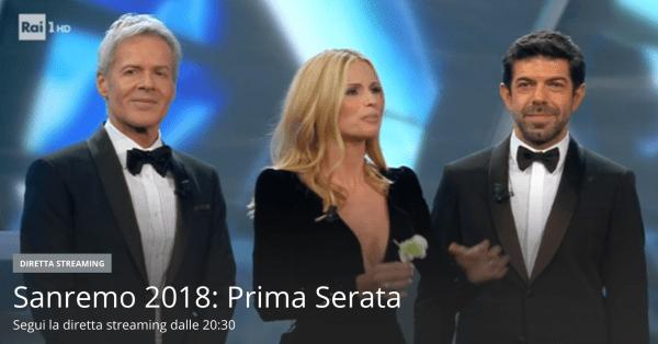 Segui Live il Festival di Sanremo 2018