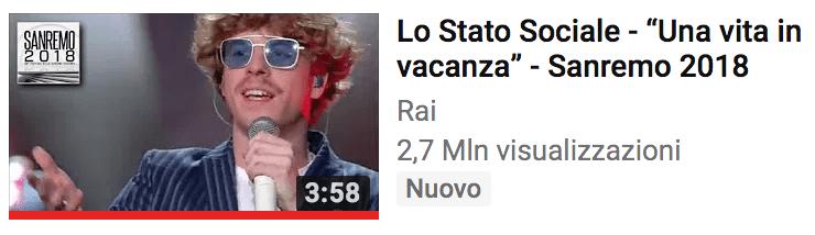 Ermal Meta e Fabrizio Moro primi su youtube