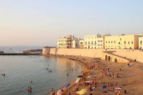 gallipoli spiagge centro storico