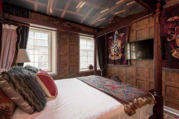 Avete mai visto la casa a tema harry potter si trova ad - Camera da letto stile harry potter ...