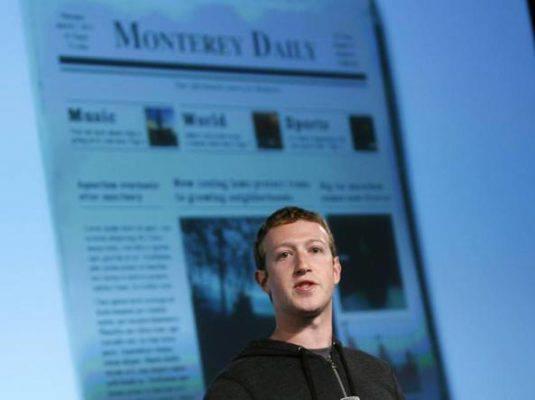 Facebook nuovo algoritmo penalizza le testate online