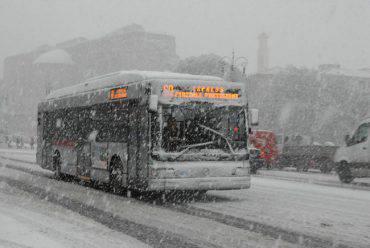 Nevicata a Roma 26 febbraio 2018