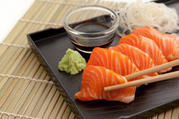sushi e sashimi, la differenza