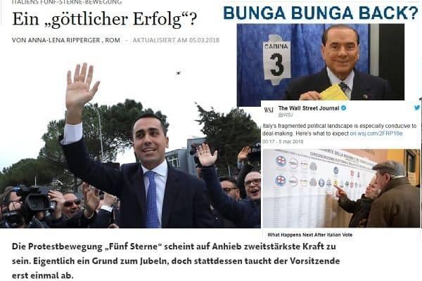 elezioni 2018 risultati stampa estera