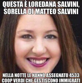Loredana Salvini Fake News
