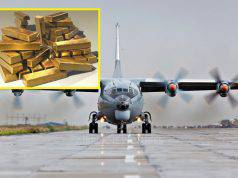 172 lingotti d'oro cadono dalla Aereo in Siberia - Russia
