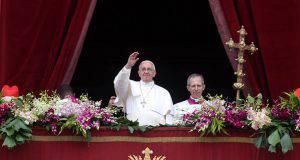 Papa messaggio di Pasqua