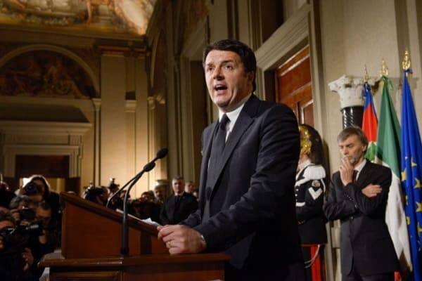 Elezioni, Renzi: lascio ma prima blindo il no a M5S