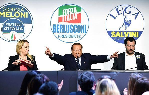 Berlusconi Salvini Nuovo Governo