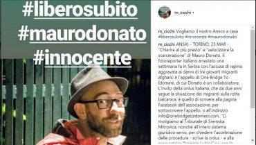 Mauro Donato giornalista italiano detenuto in Serbia