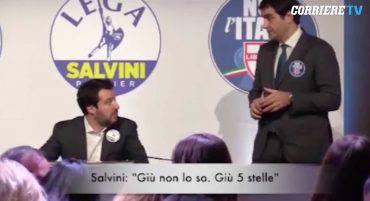 Fuori Onda tra Salvini Meloni e Fitto