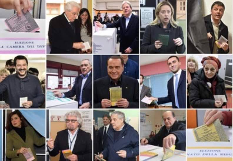 Risultati definitivi reali elezioni politiche 2018