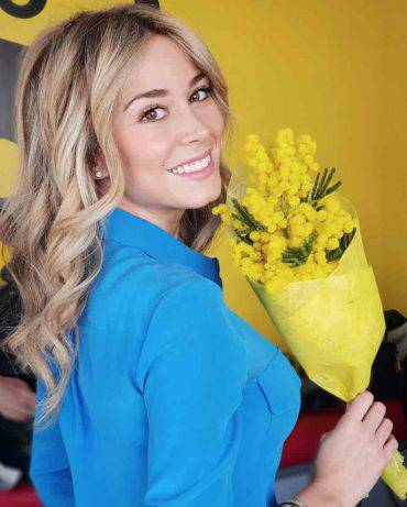 Diletta Leotta 8 marzo festa della donna mimosa