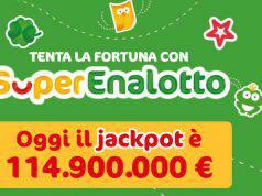 Jackpot superenalotto 17 marzo 2018