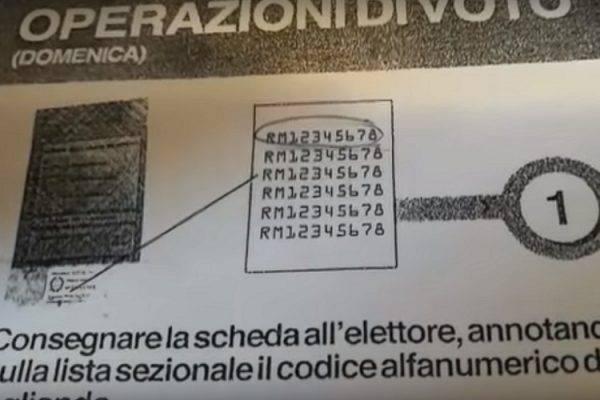 elezioni scheda elettorale regole