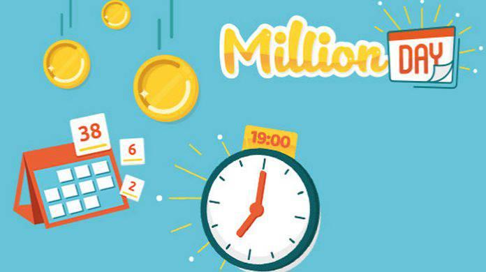 Million Day Diretta Live numeri vincenti oggi 29 marzo 2018