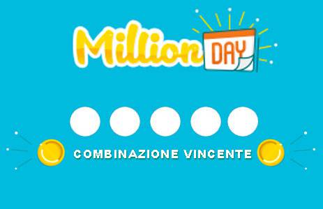 million day estrazione 18 marzo