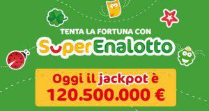 jackpot superenalotto 29 marzo