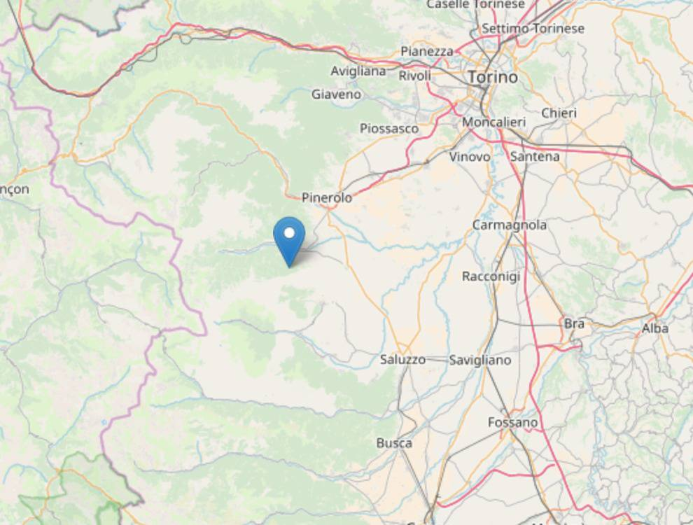 Terremoto Piemonte