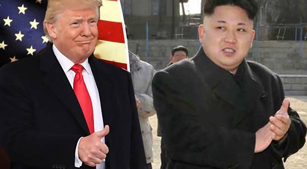 Kim e trump incontro di pace a maggio