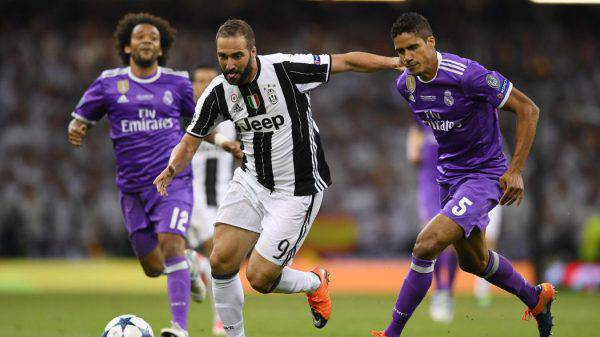 Canale 20 Juventus Real Madrid