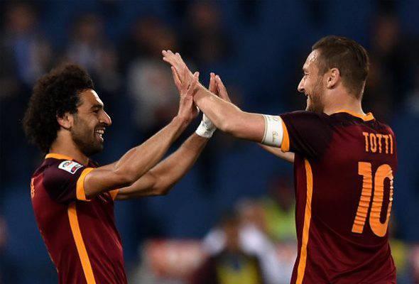 Liverpool Roma Salah