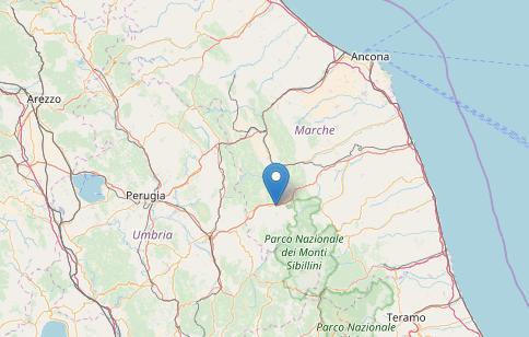 Terremoto, INGV: leggera scossa magnitudo 3.1 a Pieve Torina (Macerata, Marche)