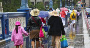 pioggia al ponte del 25 aprile?