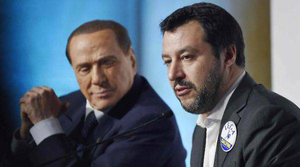 """Berlusconi: """"Salvini non ha tradito. Temo facciano la patrimoniale"""""""