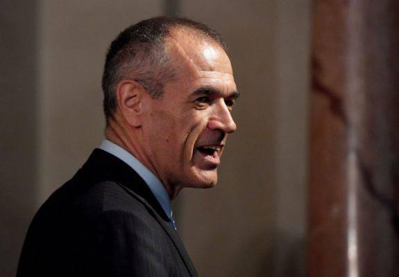 Nuovo governo, Cottarelli rimette l'incarico