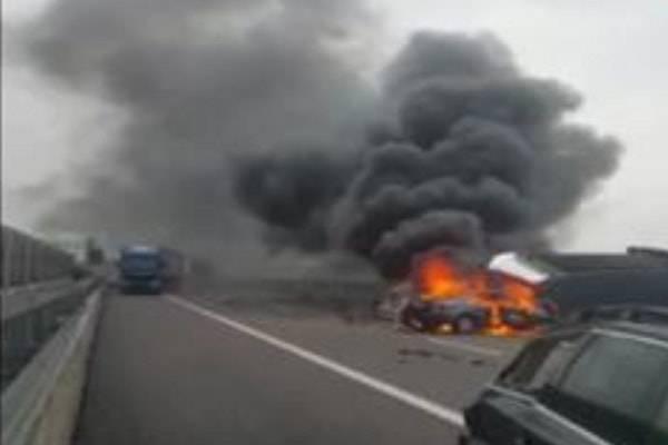 Incidente autostrada A31