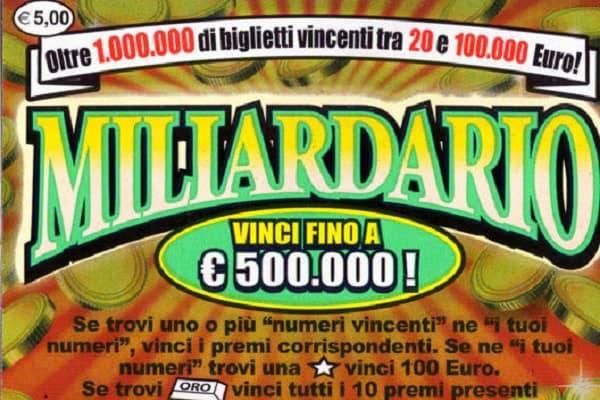 Gratta Vinci Milionario