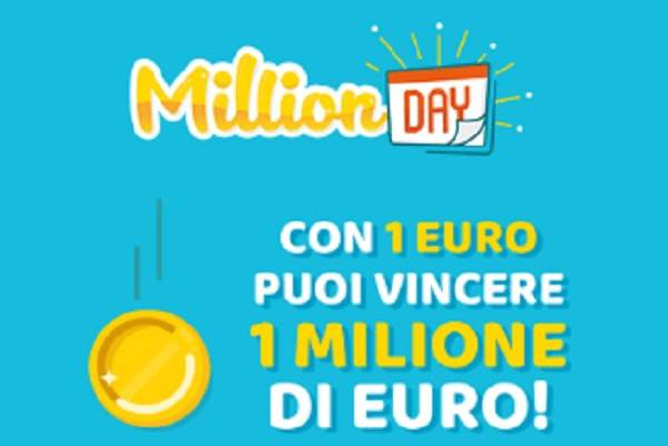 Million Day: estrazione di giovedì 26 luglio 2018, i numeri vincenti