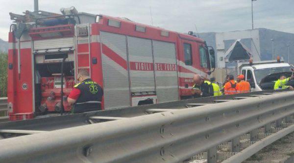 Incidente a Carini sull'autostrada Palermo-Mazara del Vallo: code e traffico in tilt