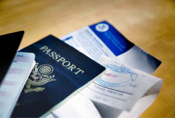 passaporto con visto