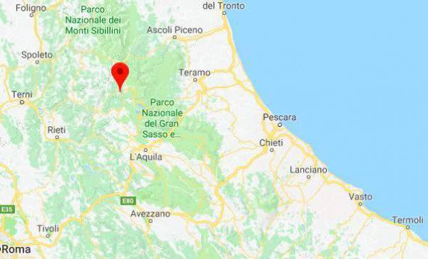 ULTIM'ORA Scossa di terremoto: torna la paura ad Amatrice