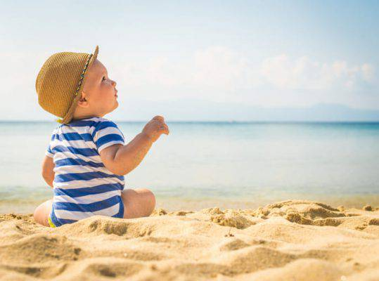 spiagge tranquille per bambini