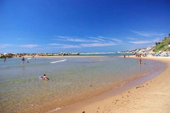 spiagge per bambini nel lazio