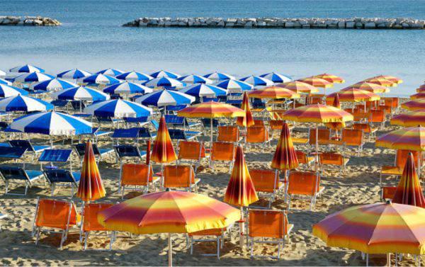 spiagge per bambini nelle marche