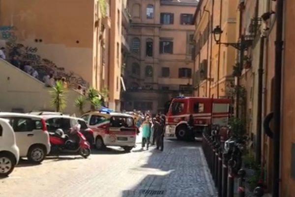 incendio Roma