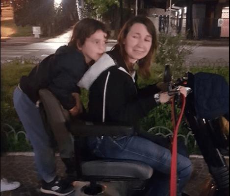 Roma: rubata la carrozzina motorizzata a Flaminia, malata di sclerosi multipla