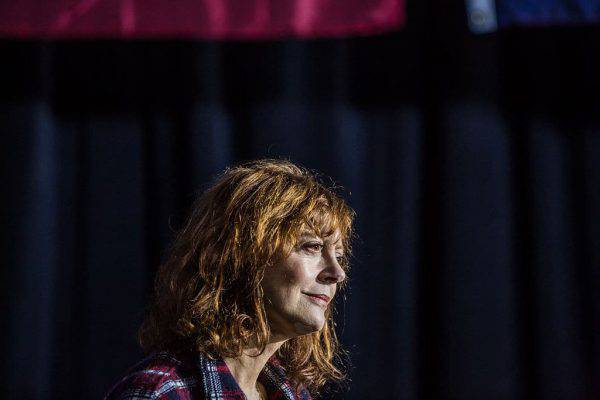 Arrestata a Washington l'attrice premio Oscar Susan Sarandon