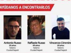 Napoletani scomparsi Messico famiglie protestano