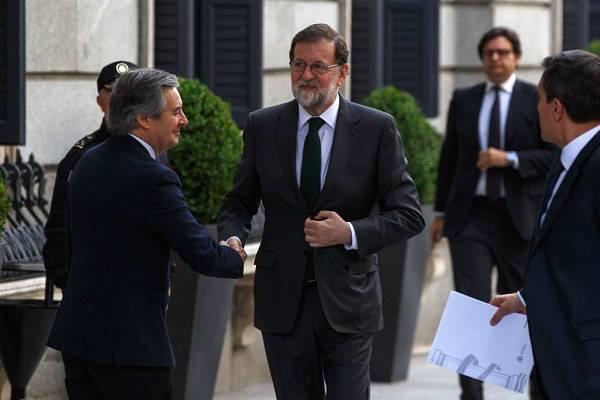 sfiduciato Mariano Rajoy