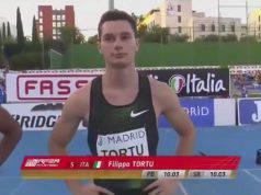 Filippo Tortu record italiano 100 metri 9.99
