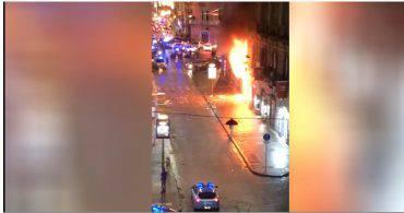 esplosione via Toledo Napoli