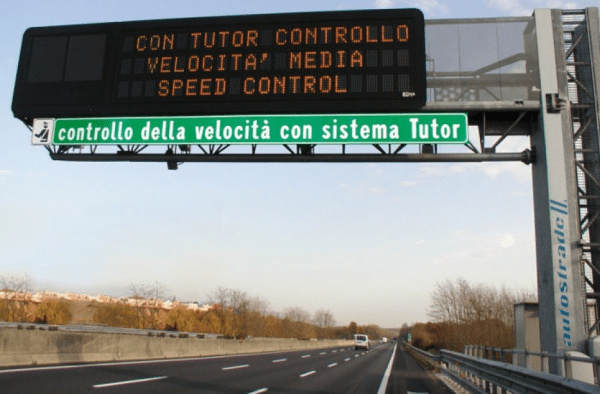 Tutor spenti, in autostrada tornano gli autovelox